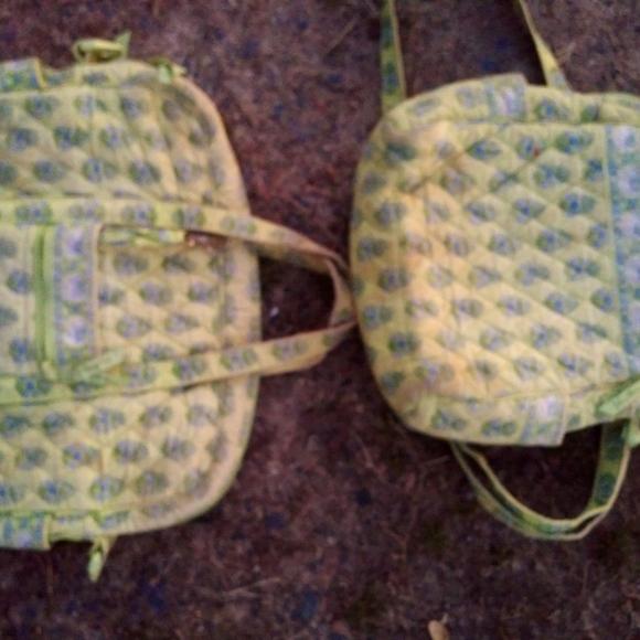 Vtg vera Bradley bags and back pak